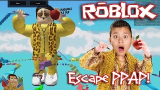 roblox pen pineapple apple pen escape ppap obby