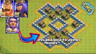 Max Lvl 11 Geared up Mortar (×12) Vs All Heroes | Clash of clans
