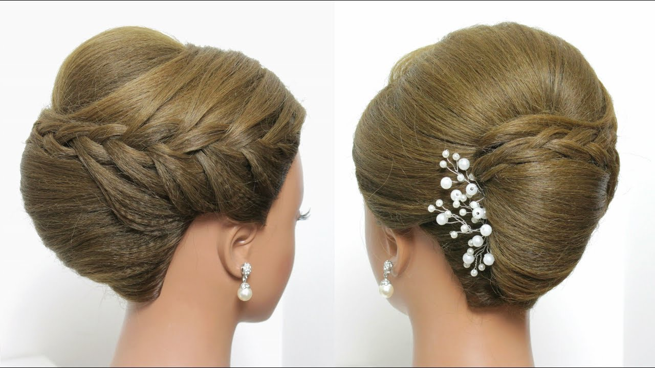 french roll hairstyle. beautiful juda style