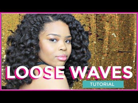 Big loose beach waves hair tutorial | Nikita Lauren