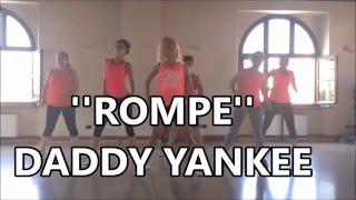 Rompe-Daddy Yankee ZUMBA Fitness Dance Choreo #Reggaeton
