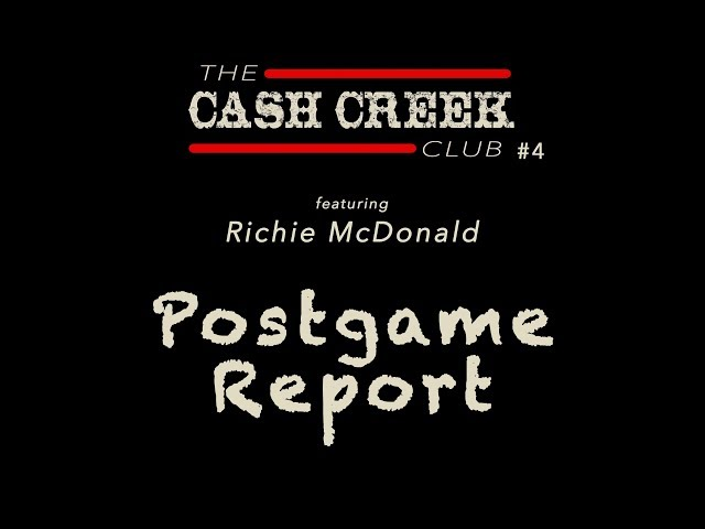 The CC Club Live #4 (feat Richie McDonald) Postgame Report Country Music Talk Show