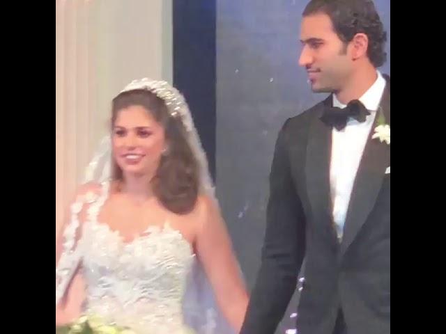 مريم قورة بطلة فيلم غاوي حب تحتفل بزفافها بحضور نجوم ومشاهير مصر