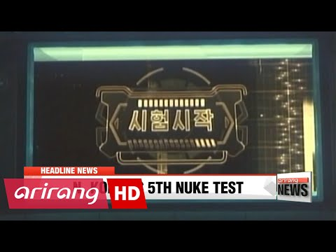 """EARLY EDITION 18:00 N. Korea """"successfully"""" carried out nuclear warhead test: KCTV"""
