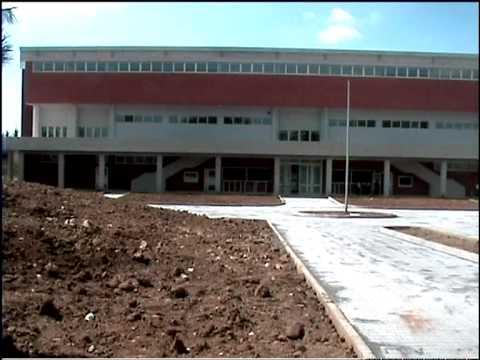 Caltagirone, ultimazione lavori Palasport.mpg