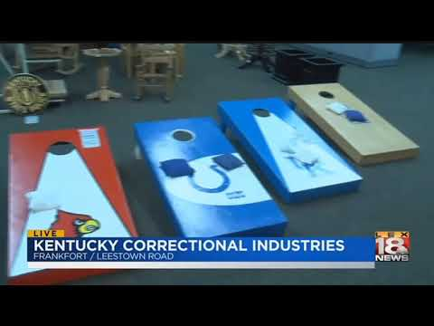 5:30 AM: Live With Lee: Kentucky Correctional Industries