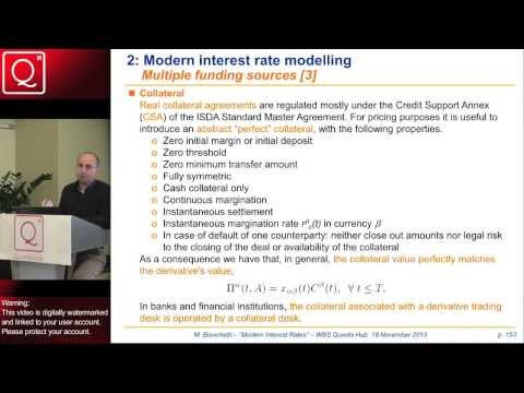 Modern Interest Rates with Collateral, Funding and Credit Risk (Part 1) - Session Sample