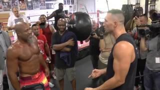 Wladimir Klitschko vs Shannon Briggs gym fight