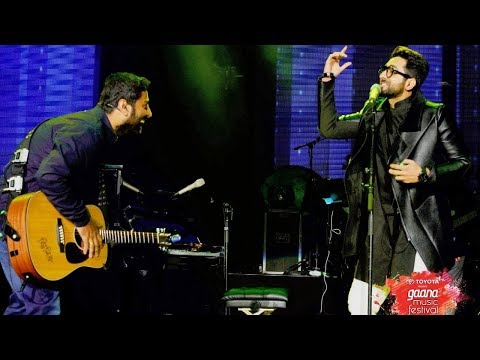 ARIJIT SINGH LIVE with Ayushman khurana at Gaana music festival in California USA 2018