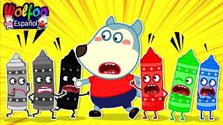 Download lagu Wolfoo Aprende Los Colores 🌈 Wolfoo en Español | Dibujos Animados para Ninos