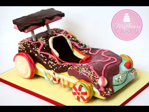 Creating a Candy Car Cake by McGreevy Cakes