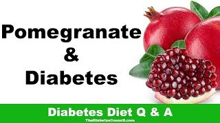Is Pomegranate Good For Diabetes?