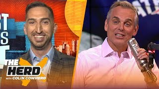 Nick Wright defends OBJ, talks Cam Newton and Demaryius Thomas trade | NFL | THE HERD