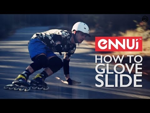 How to Glove Slide? Downhill inline skating tutorial with Ennui Freeride Slider Gloves