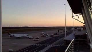 A SAAF Hawk Mk 120 doing a 450 knot initial at FAPE/PLZ (Port Elizabeth Airport, South ...