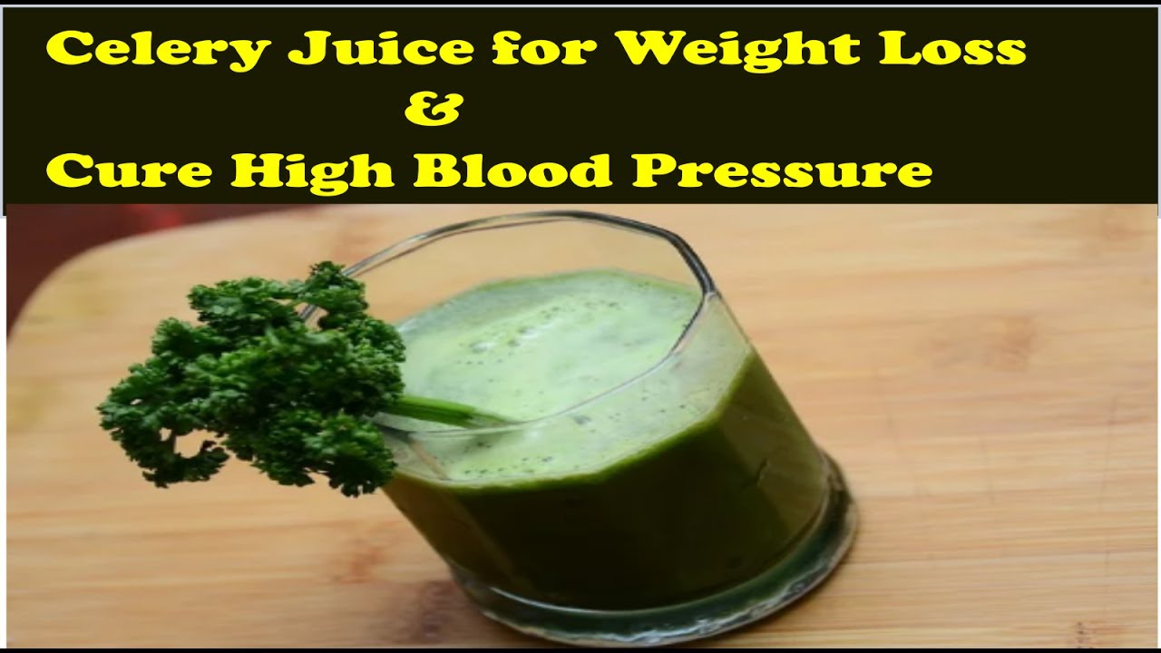 Is celery good for high blood pressure