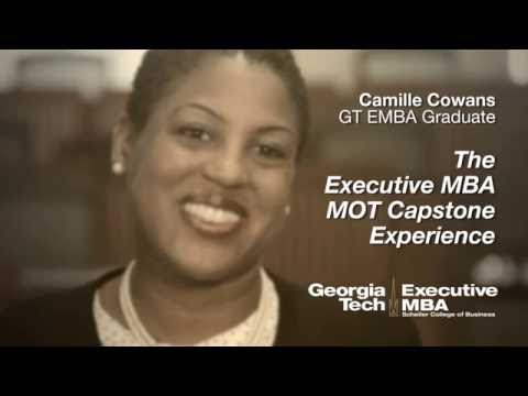 Georgia Tech Executive Mba Management Of Technology Capstone Project Experience