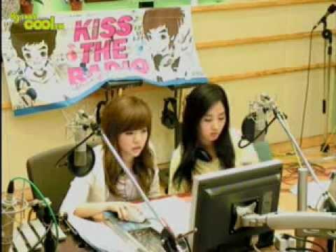 SNSD Yuri & Sunny Special DJ 2AM Changmin Jokwon @ Kiss the radio Jul15.2009 GIRLS' GENERATION Live