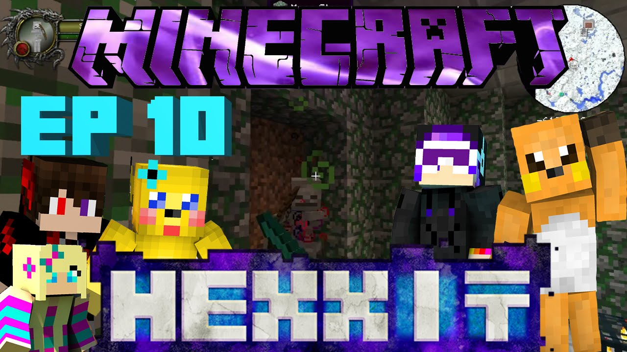 Minecraft Hexxit Ep 10: Enchanting and Repairing Scale Armor and Cloud Boots