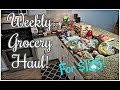 Weekly Grocery Haul for $125 + Meal Plan!
