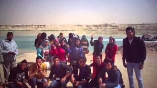 طلاب كلية التجارة بالاسماعيلية يهتفون بقناة السويس الجديدة تحيا مصر
