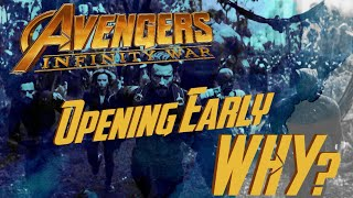 WHY Is Avengers: Infinity War Opening a Week Early?