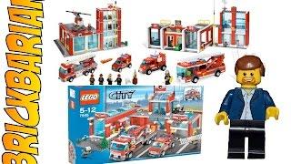 Lego Investing 101 Firestation Sets