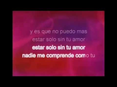 Alacranes Musical-Sin Tu Amor (Letra Y Karaoke)