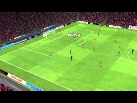 Friburgo - Bayern Múnich - Gol de Bechtholdt 53 minutos