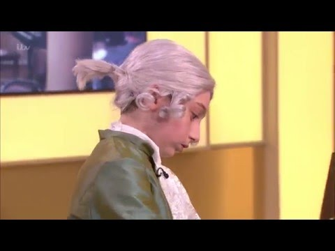 Mini Mozart Plays Out The Show | This Morning