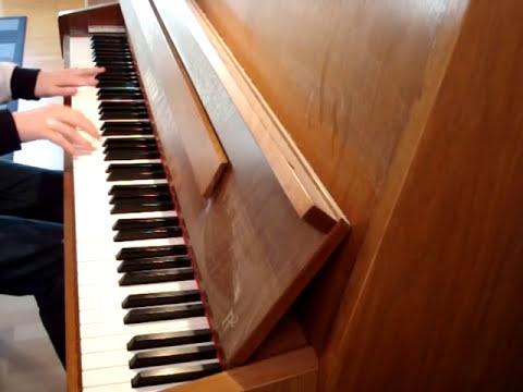 Right Now - Van Halen (on Piano)