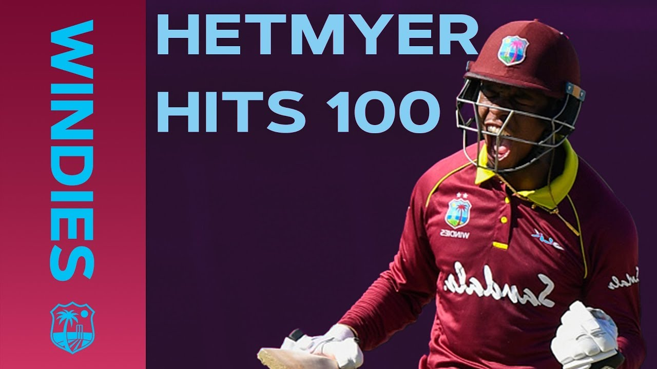 100 In Only 82 Balls! Hetmyer's Incredible Innings Against England | Windies Finest
