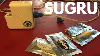Sugru fix your Mac charger, apple cables, perfect for Travel and Digital Nomads