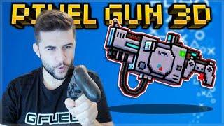 RETRO PLAYSTATION 1 WEAPON DISC BATTLE STATION DESTROYS! Pixel Gun 3D