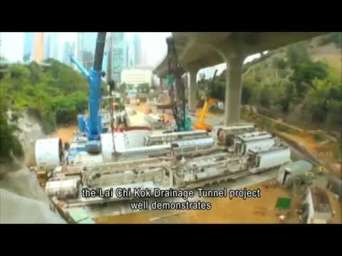 Civil Service Outstanding Service Video Series - Lai Chi Kok Drainage  Tunnel Project