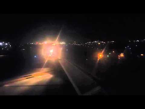 Delta Air Lines MD-90 takeoff from Hartsfield-Jackson Atlanta International Airport