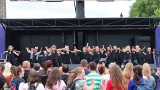 Street Dance at the main stage | Glasgow Green | Achieve More!