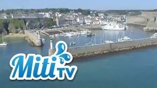Morbihan vu du ciel : Belle Ile en Mer, Le Palais