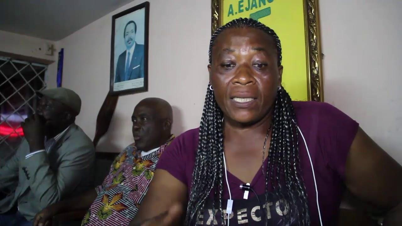 Marie Choral Machekam vice présidente de la commission de foot Feminin dans le Littoral ar vincent K