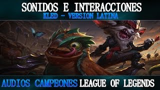 KLED | Voces e Interacciones (LATINO) | League of Legends