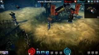 Akaneiro: gameplay