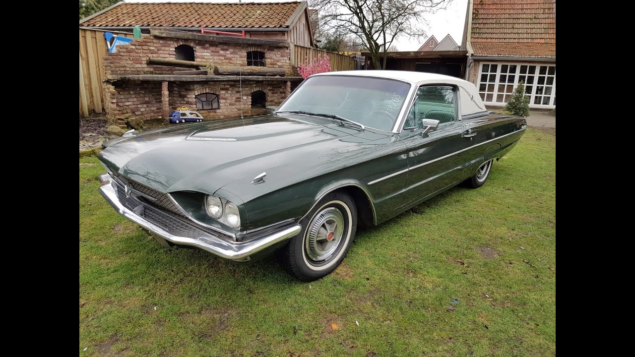 medium resolution of 1966 ford thunderbird town landau with the optional cruise control