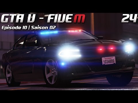 Law Enforcement - Patrouille #24 -  Gang unit ! (FiveM)