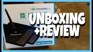 Huion USB PEN TABLET || Unboxing+Review
