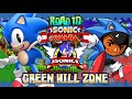 Road To Sonic Mania: Sonic The Hedgehog Part 1 - Green Hill Zone (christian Whitehead Remake) video