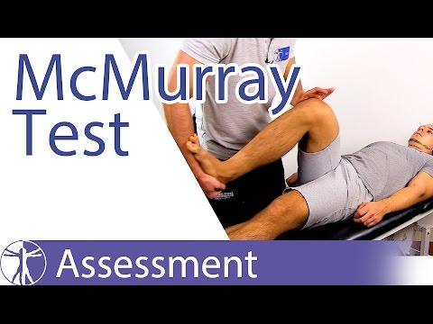 McMurray Test⎟Meniscus Damage