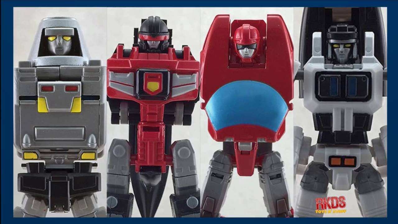 Action Toys Review Machine Robo Gobots Figures