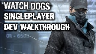 Watch Dogs Gameplay Walkthrough Part 1: Singeplayer Mission, Stealth, Combat! PS4, Xbox One, PC, PS3
