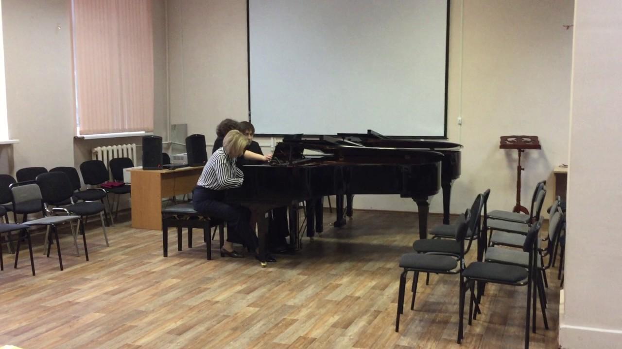Фортепианные ансамбли в 6 рук