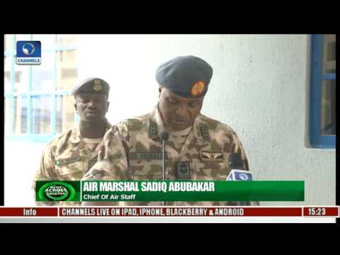 NAF Commissions Cancer Centre In Maiduguri